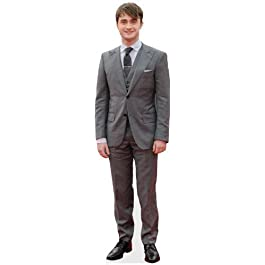 Silueta de cartón de tamaño real de Daniel Radcliffe para colocar de pie, envío gratuito al RU