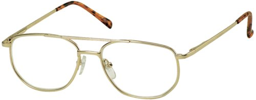 Sunoptic OR23A Gold Reading Glasses - Strength +4.00 Including Pouch