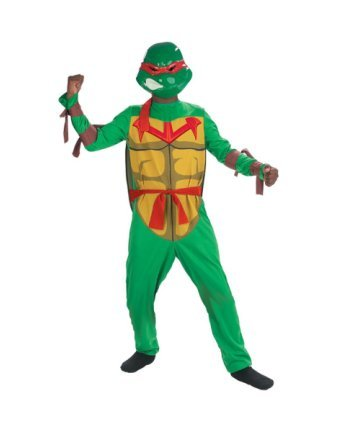 Teenage Mutant Ninja Turtles Boys Costume Size 7-8