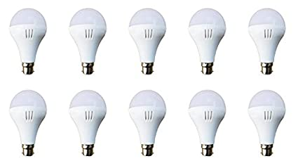 12W Cool Day Light Led Bulb (Pack of 10)