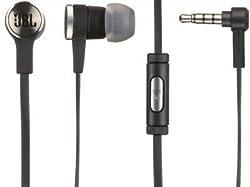 JBL Synchros E10 Stereo In-Ear Headphones With Mic-BLACK