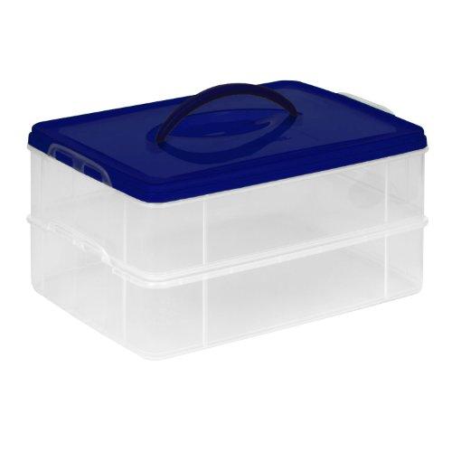 "Snapware Snap 'N Stack Portable Organizer, 14.1""x10.5""x3.7"" Rectangle"