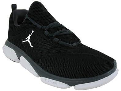 Men's Nike Air Jordan RCVR 487117 003 Black White Anthracite Sneakers (MEN 12, Black White Anthracite)