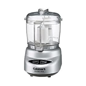 Cuisinart Mini-Prep Plus 4-Cup Food Processor - Brushed Chrome Base