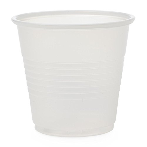 Medline NON030035 Disposable Cold Plastic Drinking Cup, 3.5 oz (Pack of 2500)