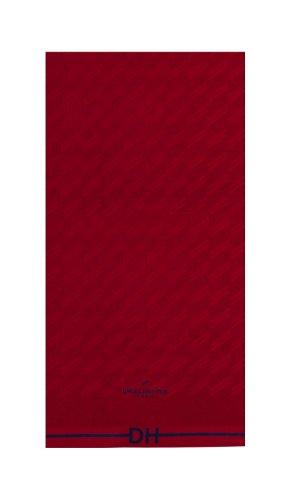 Daniel Hechter Handtuch rot rot Größe 50x100 cm