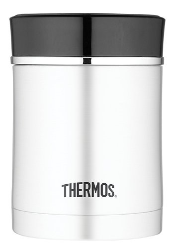 Thermos NS340BK4TRI 16-Ounce Stainless Steel Food Jar (Black)