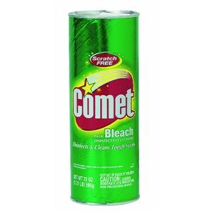 Comet Disinfectant Cleanser With Bleach 21 oz (595 g)