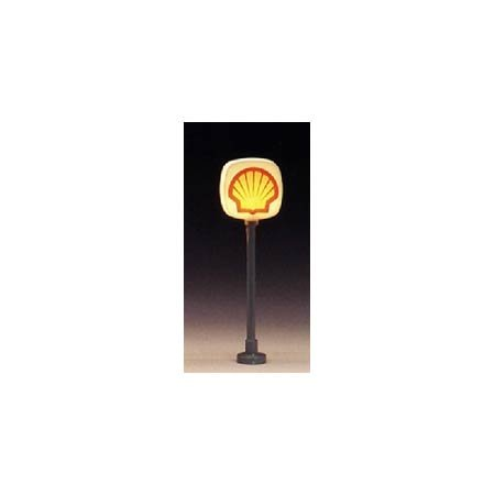 Model Power HO Lighted Signs, Shell (2) MDP704 - 1
