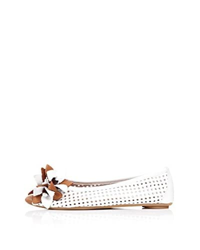 Bueno Shoes Zapatos Peep Toe Flor