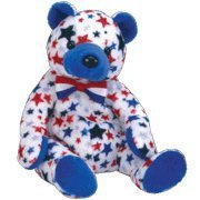 TY Beanie Baby - BLUE the Bear (Internet Exclusive) - 1
