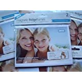 Clear Pocket Magnetic Fridge Frame (Holds 4 x 6 Photo) Pack of 2