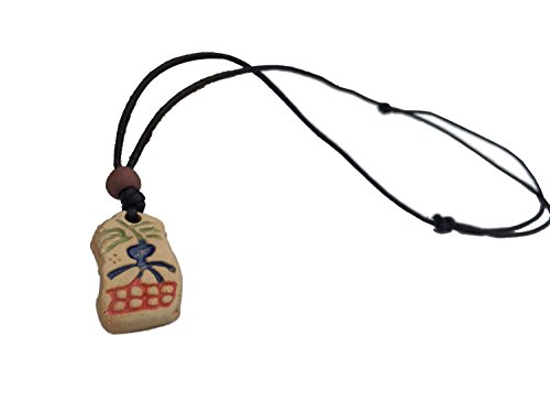 Real Spark Unisex Lovers Couple Leather Rope Totem Stone Pendant Adjustable Tribal Necklace (Spoon Neckless compare prices)