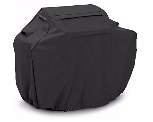 BBQ Gas Grill Cover Black Barbecue Heavy Duty Waterproof Outdoor Weber Lower 58