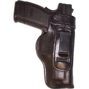 FN, FNX, FNP 45 Heavy Duty Black Right Hand Inside The Waistband Concealed Carry Gun Holster
