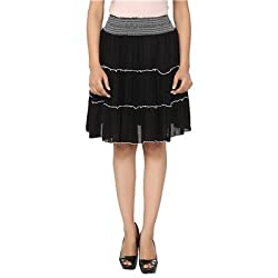 FASHION By The BrandStand Women Skirt Blk-S