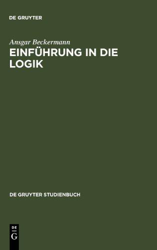 Einführung in die Logik. (De Gruyter Studienbuch)