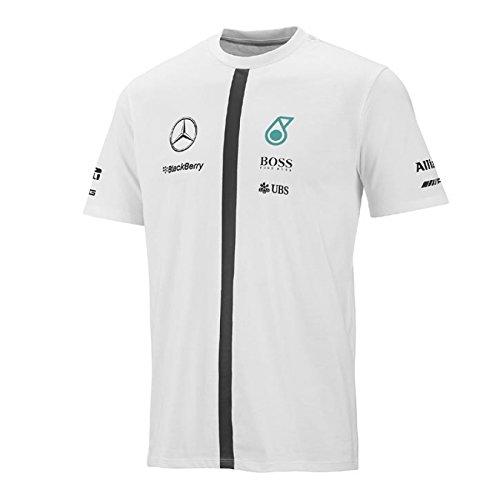 mercedes-chemises-et-t-shirt-sportives-mamgp-sl-taille-xl-white