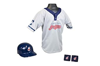 Cleveland Indians MLB Youth Team Uniform Set by Franklin
