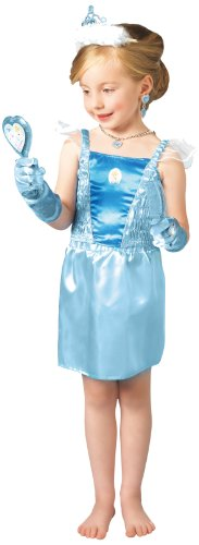 Cinderella costume and accessories for girls. - 3-5 years/ Toddler-Small