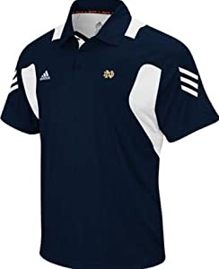 Notre Dame Fighting Irish XXL Adidas Classic Performance Scorch Polo Shirt Navy Blue... by Classic Performance Polo Shirt