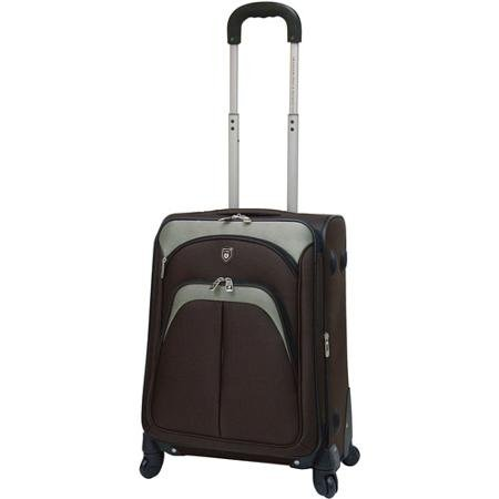 travelers-club-20-expandable-rolling-carry-on-with-4-wheel-spinners-mocha