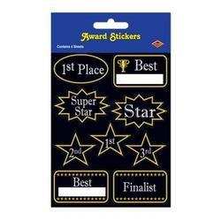 Award Stickers   (4 Shs/Pkg) - 1