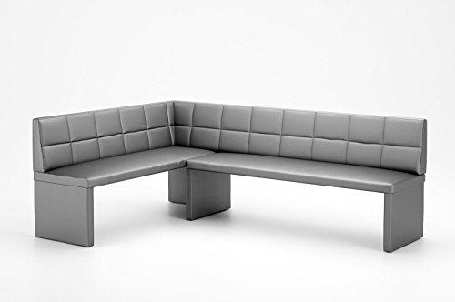 Eckbank-MARTA-Kunstleder-Gestell-aus-Holz-in-mit-starker-Polsterung-140x200-links-Grau