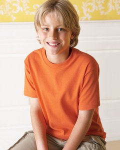 Fruit of Loom 3930B Kids's Heavy Cotton T-Shirt