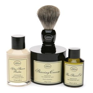 The Art of Shaving Unscented Hypoallergenic Blue Box Gift Set