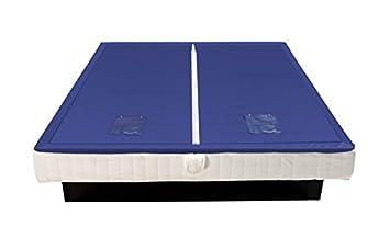 Savorana® Wasserkerne Softside Dual Wasserbettmatratze Matratze Wasserbett in verschiedenen Größen und Beruhigungsstufen, Größe:200x240;Beruhigungsstufe Wasserbett:F2 leicht > 5 Sek = 50%