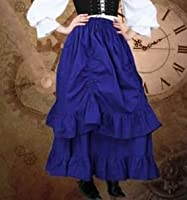 THe Downshire Renaissance or Steampunk Skirt (Size Large) by Patterns of Time