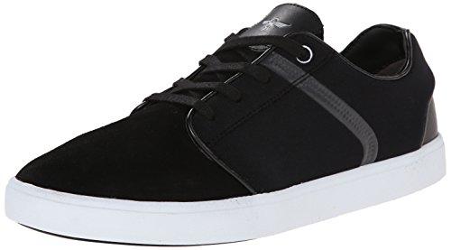 Creative Recreation Men's Santos Fashion Sneaker, Black/White, 9.5 M US