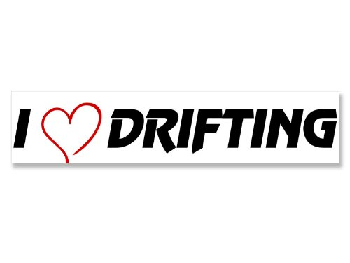 I Heart Drifting Bumper Sticker