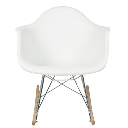 ... Molded Plastic Rocking Rocker Shell Arm Chair Furniture Chairs Chairs