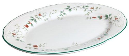 Pfaltzgraff Winterberry 14-Inch Stoneware Serving Platter