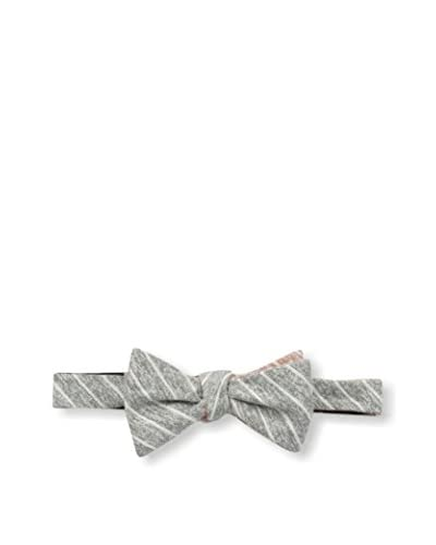 Cotton Treats Men's Langham Small Stripes Regular Bow Tie (Reversible)