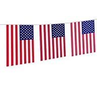 USA Flag Stars & Stripes Party Banner…
