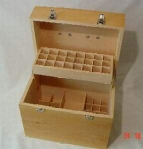 Professional essential oil storage box   42 + 8 bottle capacity       review