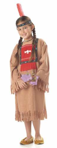 Child's Running Brook Indian Costume Size X-small (4-6)