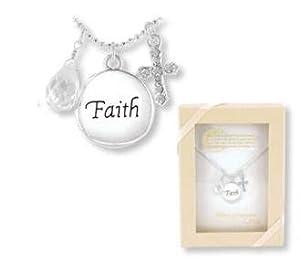 Inspirational Faith Necklace