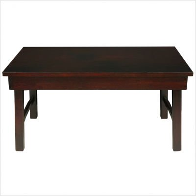 "Korean Tea Table (Dark Walnut) (11.25""H x 25""W x 15""D)"