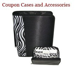 Coupon Organizer System, 2 Piece Set Includes Binder and Purse Wallet, Black and Zebra Set Large Binder with Carrying Handle and Matching Large Deluxe Flat Zipper Wallet 8 X 4 with 20 Slots, Nothing Falls Out in Your Purse, Best Couponing Idea, No More Carrying Binders, Envelopes or Stacks of Coupons Into the Store