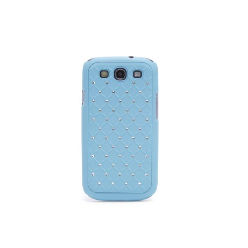 Doublju Luxury Plastic Snap-on Hard Back Cover Phone Case BLUE