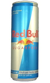 8 Pack - Red Bull Energy Drink - Sugar Free - 12oz.