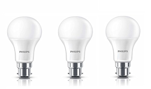 Philips 13W B22 LED Bulb (Cool Day Light, Pack of 3)