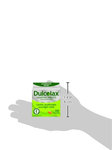 Dulcolax Laxative Tablets 100 Count 885376779831