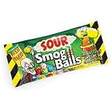 Toxic Waste Sour Smog Balls Candy (Net wt 2 oz)