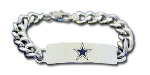 Dallas Cowboys ID Bracelet (Large) at Amazon.com
