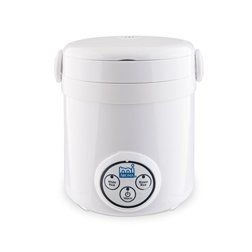 Aroma Housewares Mi 3-Cup (Cooked) (1.5-Cup UNCOOKED) Digital Cool Touch Mini Rice Cooker (Mini Small Rice Cooker compare prices)